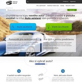 Web VyberámAuto.sk