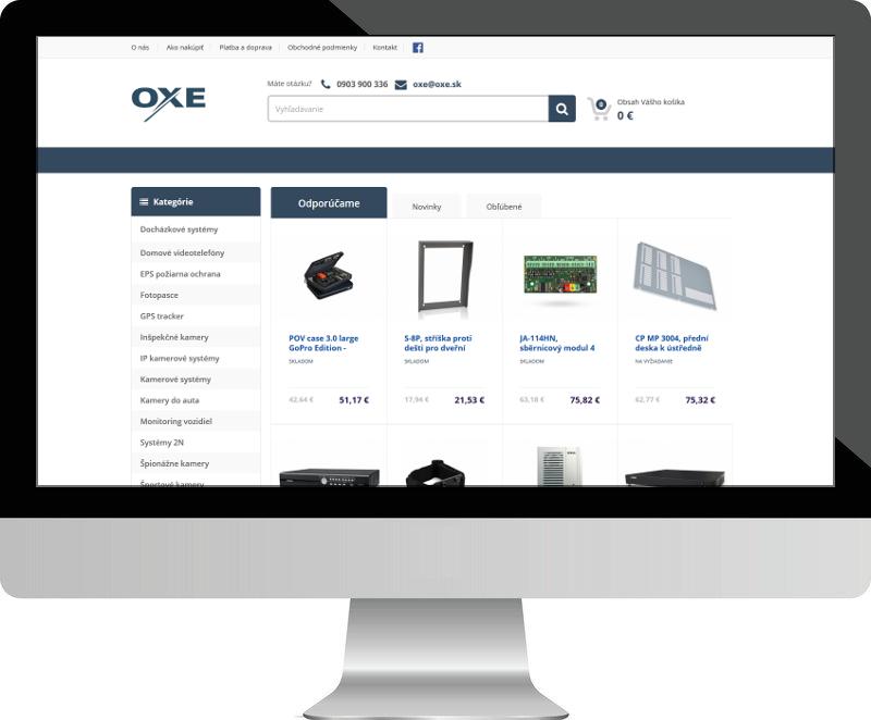 Dostupný e-shop -