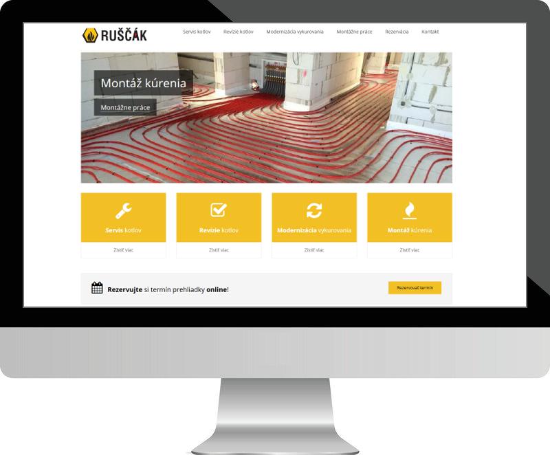 Dostupný web - Ideálne riešenie pre menšie firmy alebo pre začínajúci biznis. Môže byť váš už za 399 €.